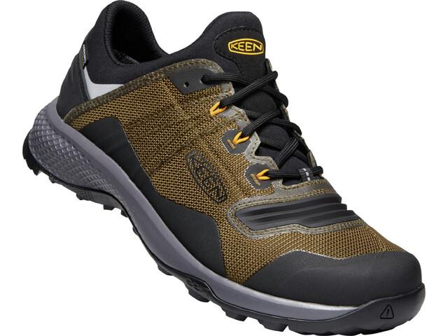 Keen Tempo Flex WP Shoes Men dark olive/black